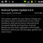 We tested the update of the Google Nexus S to Ice Cream Sandwich