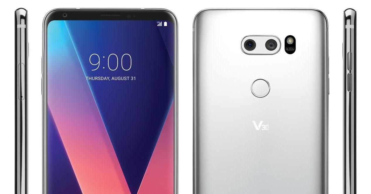 New LG V30