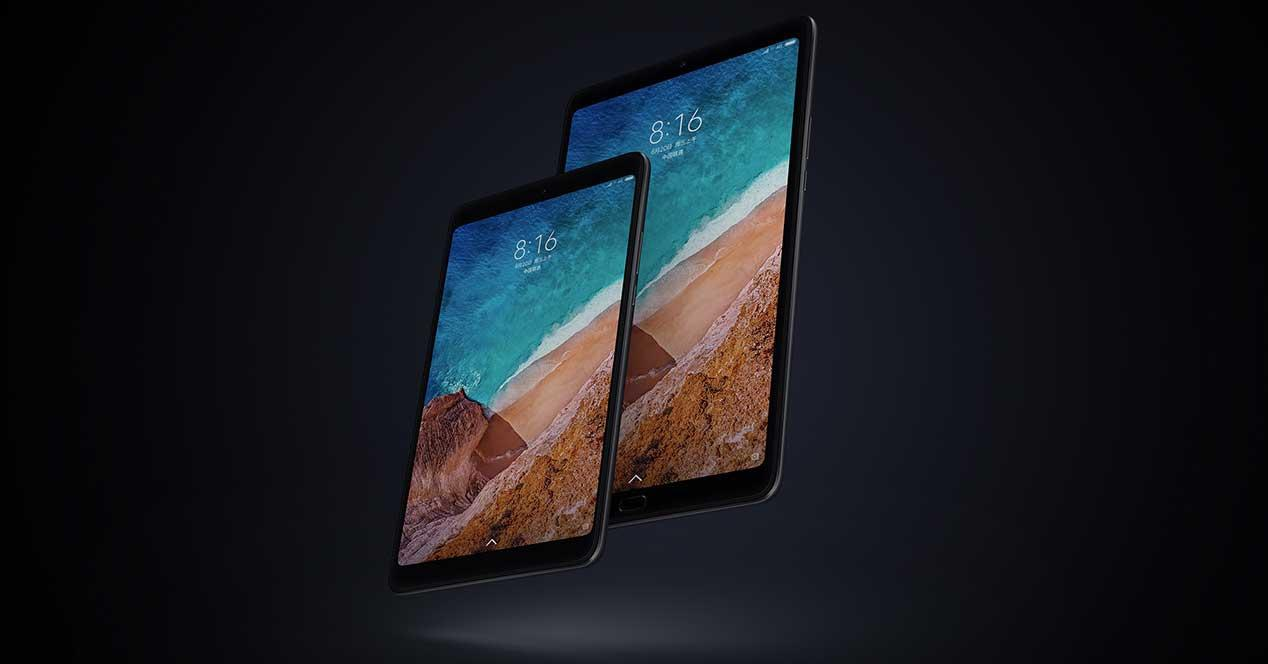official features of the Xiaomi Mi Pad 4 Plus