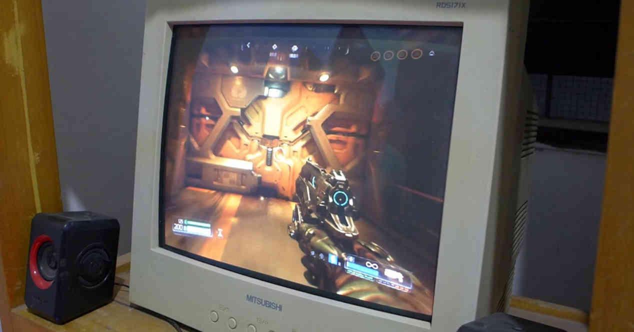 CRT Gaming Monitor