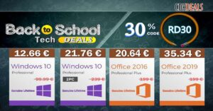 Cheap Windows 10 and Office license deals at cdkdeals