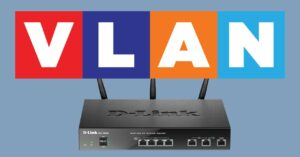 Configure VLAN on the LAN and WAN of this router