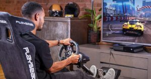 Steering wheels compatible with PS5 and Xbox Series S /…