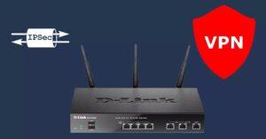 Configure IPsec VPN Server on the D-Link DSR-1000AC Router
