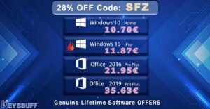 Offer, Windows 10 for 12 euros with lifetime license