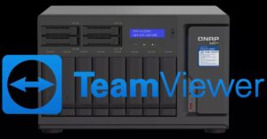 Now you can remotely control QNAP NAS with TeamViewer
