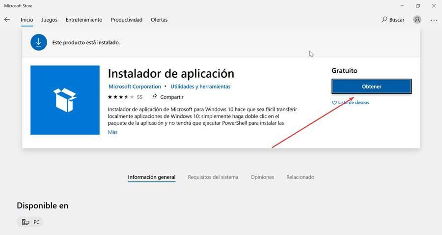 Get App Installer
