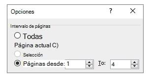 save options in pdf