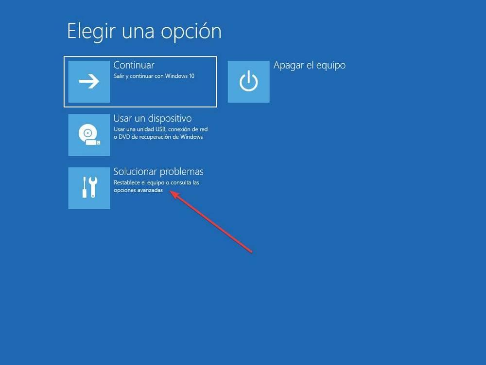 Windows 10 Recovery Options - 1