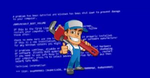 Blue screen with Bad System Config Info error? Fix it…