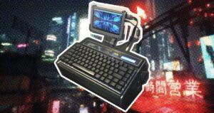 They transform a Sanyo radio into a Cyberdeck with Raspberry…
