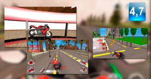 Moto Rider Death Racer, drive at full speed without thinking…