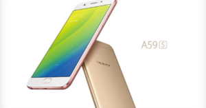 The Oppo A59s with 4 GB of RAM and 16…